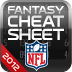 NFL Fantasy Football Cheat Sheet 2012 for iPad